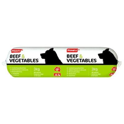 Prime100 Beef & Vegetables 3kg