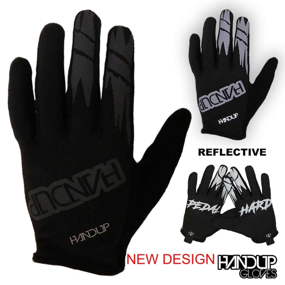 Handup Pedal Hard Blackout Gloves
