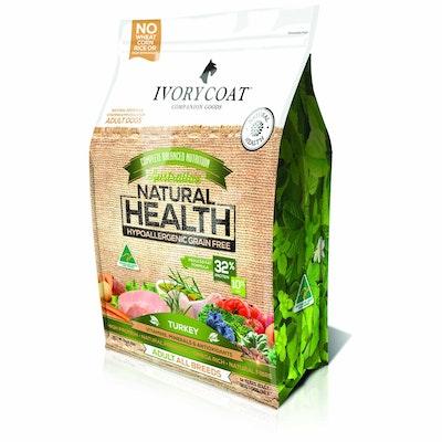 IVORY COAT Grain Free Fat Reduced Senior Turkey Dry Dog Food