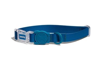 Zee Dog Neopro Adjustable Soft Dog Collar Blue - 4 Sizes