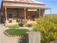 Cottage cafe at Silverton NSW