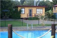 Bellinger River TP pool and cabin normally