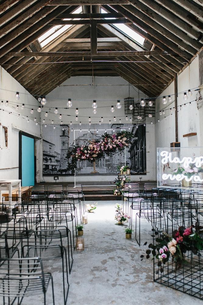 alternative wedding styling ideas LENZO