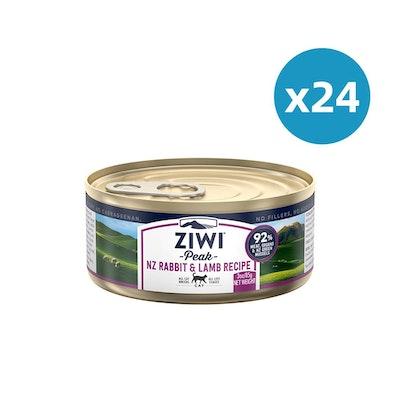 ZiwiPeak ZIWI Peak Cat Rabbit & Lamb Recipe Can 85G X 24