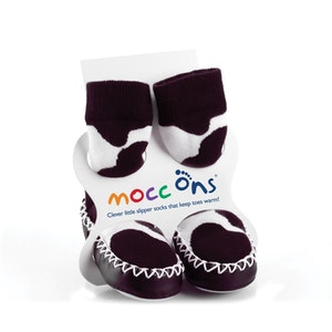 Sock Ons MOCC ONS Cow Print 12-18