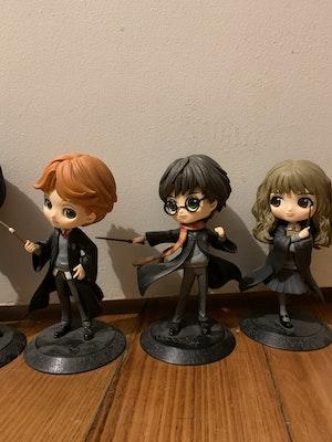 Harry Potter QPosket Set + Newt Scamander, Draco & Snape