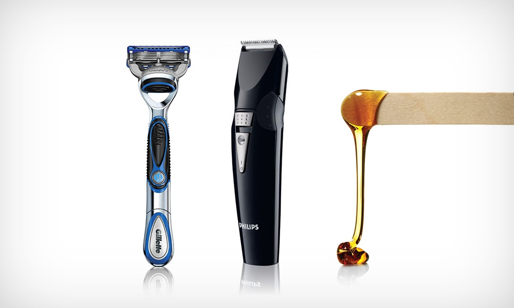 The Art of Hair Removal - Razor, Rip, Clip