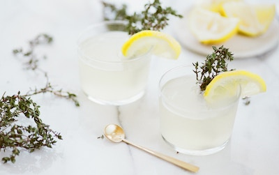 Lemon and Thyme G&T Cocktail Recipe