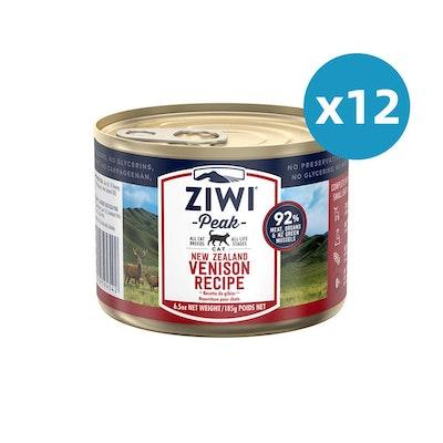 ZiwiPeak ZIWI Peak Cat Venison Recipe Can 185G X 12