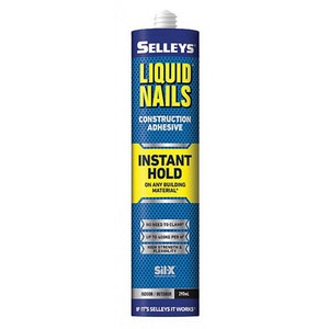 Liquid Nails Instant Hold 290ml Indoor & Outdoor Use