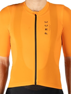 Pedal Mafia Mens PMCC Jersey - Orange Black
