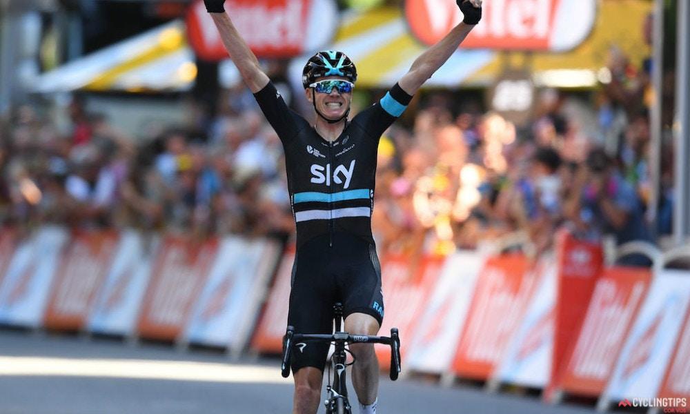 Defending Champ Solos to Tour de France Stage Win