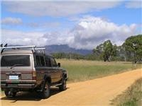 GSA HJ60 ContACT heads into Victorias Grampians National Park