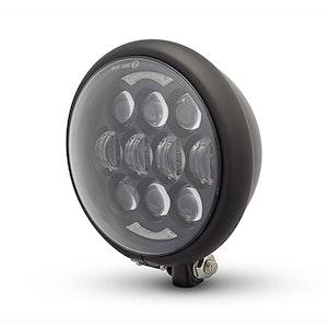Bates Style LED Multi Projector Headlight - Matte Black