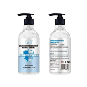 WH Safe Alcohol-Based Sanitiser Gel - Twin Pack (2 x 500mL)