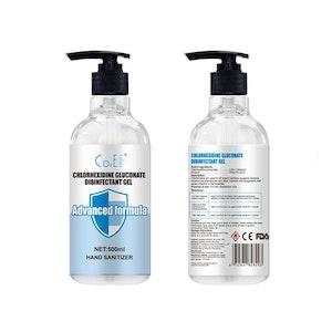 WH Safe Alcohol-Based Sanitiser Gel - Twin Pack (2 x 500mL)