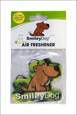 Smiley Dog Apple Air Freshener