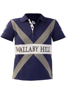 Wallaby Hill Men's Polo  'X' Shirts