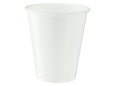 Plastic Cups - White 200ml
