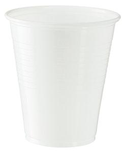 Plastic Cups - White 200ml