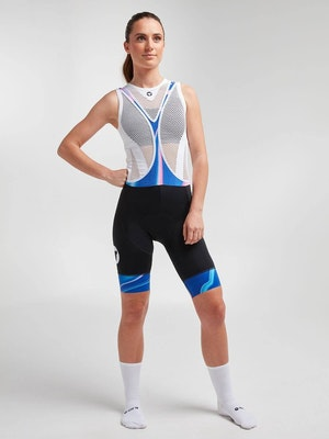 Black Sheep Cycling Women's Essentials TOUR Bib - Azure Synth