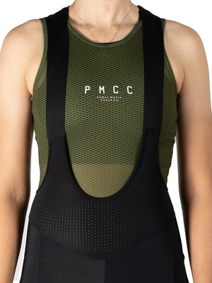 Pedal Mafia Women's PMCC Base Layer - Olive