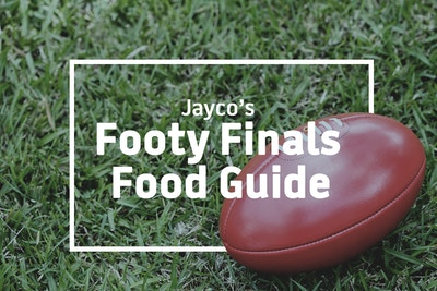 Jayco's Footy Finals Food Guide