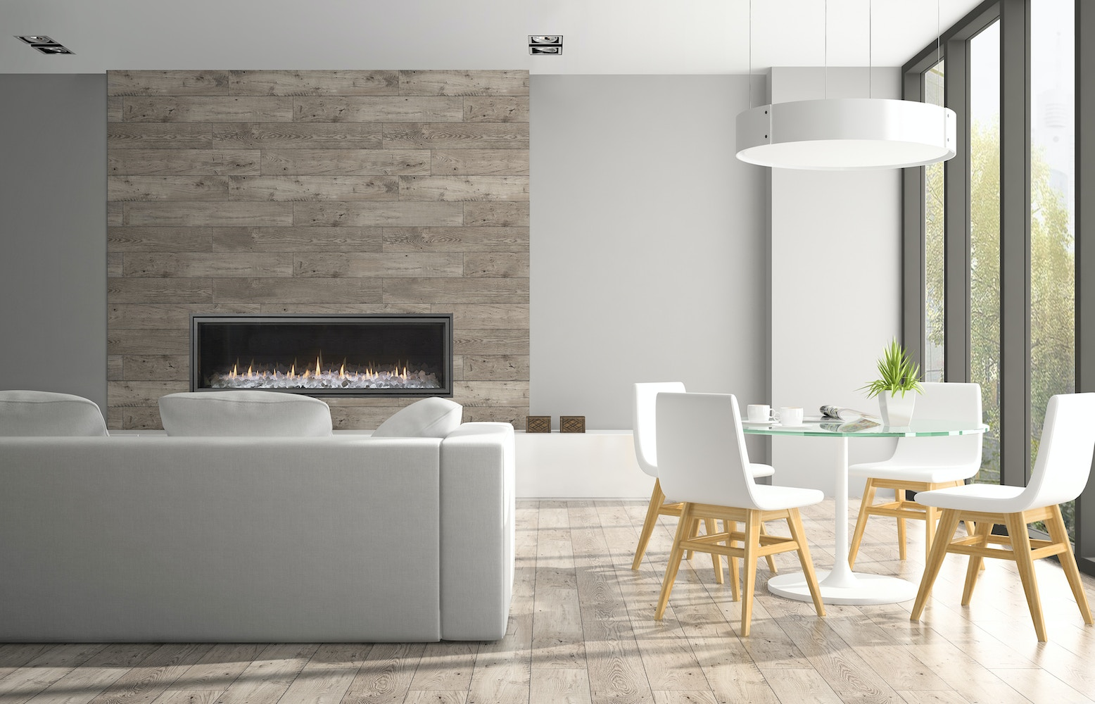 What is a Direct Vent Gas Fireplace?