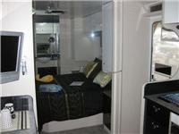 Southern Cross Caravans double-bed option