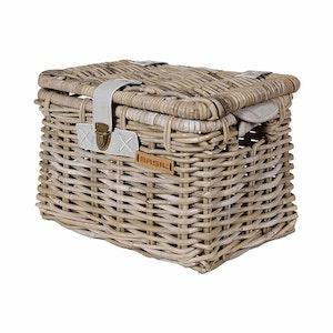 Basil Denton Front Basket M Grey