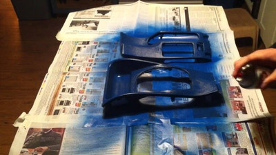 How To Paint Auto Plastic Parts