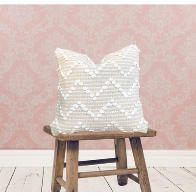 SATTVA WORLD Trika Handwoven Cotton Cushion Cover 45x45