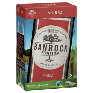 Banrock Station Shiraz Cask 2L
