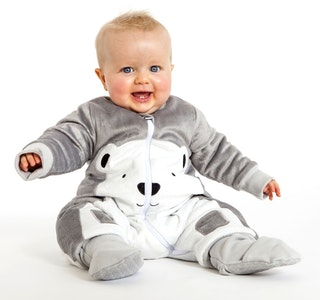 Baby Studio  WARMIES WITH ARMS AND LEGS COTTON/FLEECE  3.0 TOG -  POLAR BEAR & KOALA BEAR
