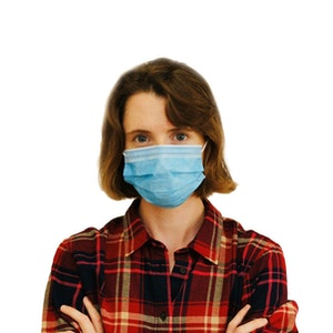 Medium barrier Procedural Face Mask - 50 Day Supply - 50 Pack