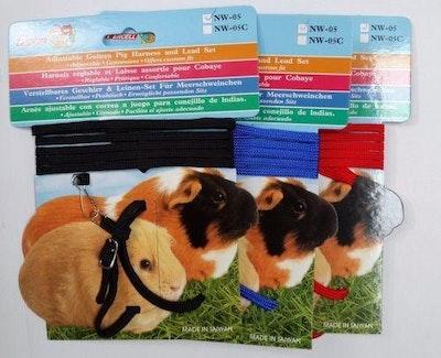 Warragul Pet Emporium Guinea Pig Harness & Lead Set Blue