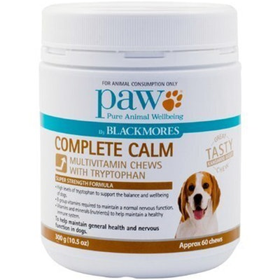 Paw Complete Calm Dogs Multivitamin Chews With Tryptophan 300g