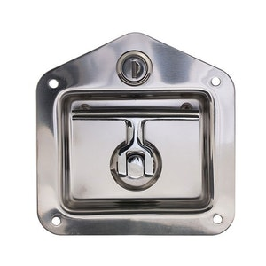 BDS folding and lockable T-Handle for tool boxes and trailer boxes in SSS