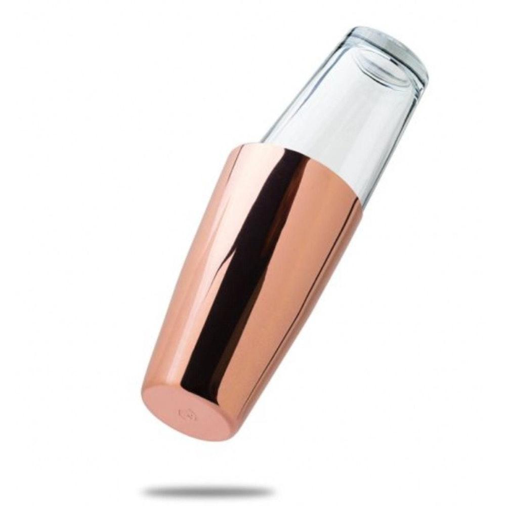 Mindful Mixology Copper Boston Shaker Tin & Glass Set