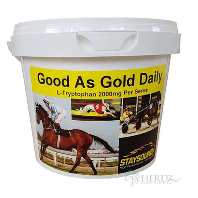 Staysound Good As Gold Daily Horse Calmer Vitamin Supplement - 2 Sizes