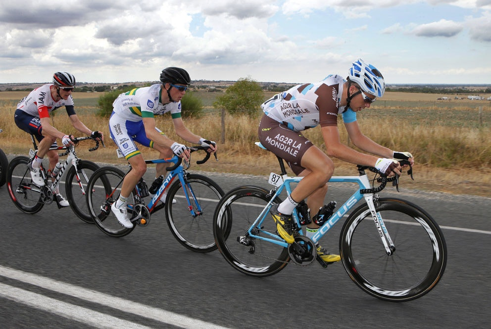 fullpage Tour Down Under Stage 4 breakaway