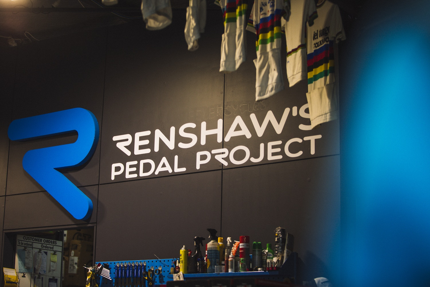 Mark Renshaw's Latest Pedal Project
