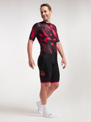 Black Sheep Cycling Men's Essentials TEAM Jersey - Lost Riders Club Pink