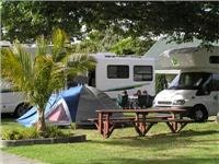 Nice tent site. Top10 Holiday Park near Auckland New Zealand