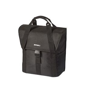 Basil Go-Single Bag 18L  Black