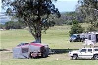Merimbula Lake Holiday Park campsites.