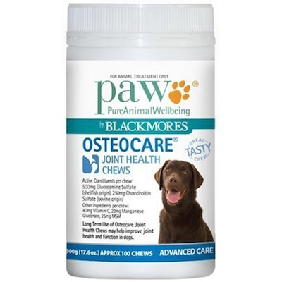 Paw Osteocare Dogs Joint Health Tasty Treat Chews - 2 Sizes