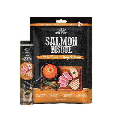 ABSOLUTE HOLISTIC Bisque Tuna and Salmon Treat
