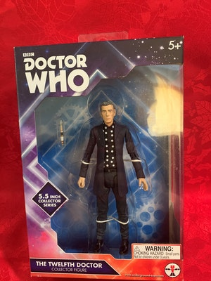 Dr Who - 12th Doctor in Polka Dot Shirt Figure