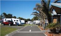 Room for big caravans Shellharbour Beachside TP